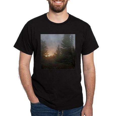 Misty mornings Dark T-Shirt