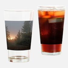Misty mornings Drinking Glass