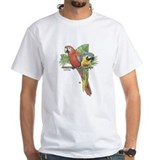 Tropical Mens White T-shirts