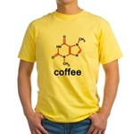 Coffee Yellow T-Shirt