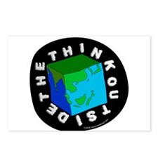 Think Outside the Box! Postcards (Package of 8)