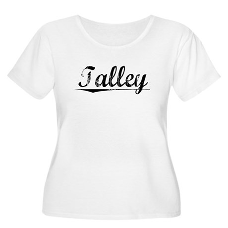 Talley, Vintage Women's Plus Size Scoop Neck T-Shi