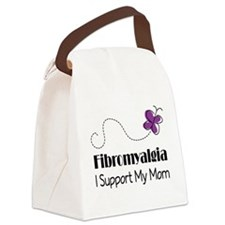 Fibromyalgia Support For Mom Canvas Lunch Bag