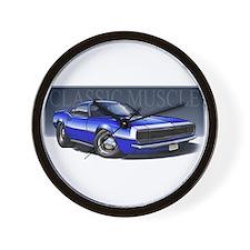 68_Blue_W2.png Wall Clock