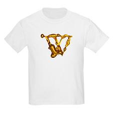 Blown Gold W Kids T-Shirt