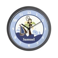 Ahoy Mate Samuel Wall Clock