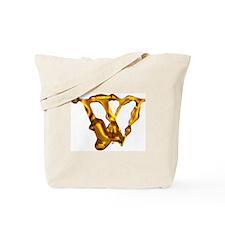 Blown Gold W Tote Bag