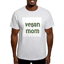 vegan mom Ash Grey T-Shirt