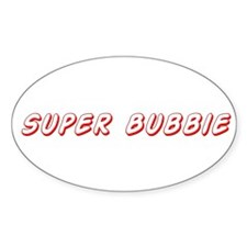 Super bubbie Oval Decal