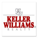 Keller williams Square Car Magnets