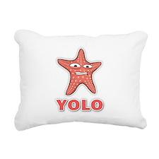 YOLO Rectangular Canvas Pillow
