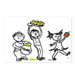 Apples & Honey Kids Rosh Hashanah Postcards (8)
