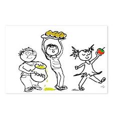 Apples & Honey Kids Rosh Hashanah Postcards (8)
