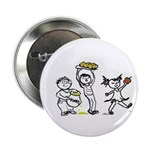 Apples & Honey Kids Jewish New Year Button