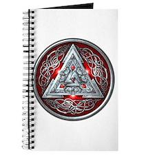 Norse Valknut - Red Journal
