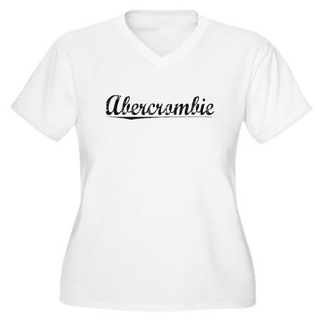 Abercrombie, Vintage Women's Plus Size V-Neck T-Sh