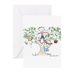 Rosh Hashanah Greeting Cards (Pk of 10)