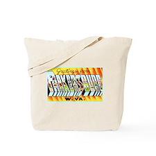 Parkersburg West Virginia Tote Bag