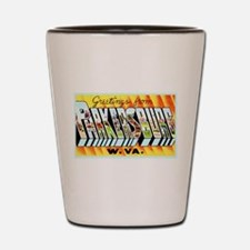 Parkersburg West Virginia Shot Glass