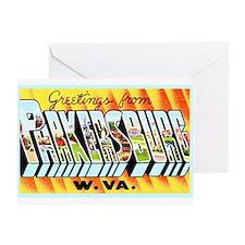 Parkersburg West Virginia Greeting Card