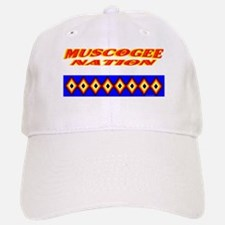 MUSCOGEE NATION Baseball Baseball Cap