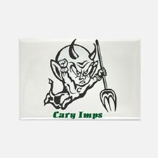Cary Imps B/W Rectangle Magnet