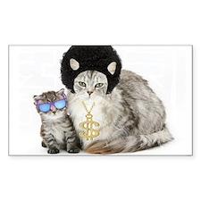 Ghetto Kitty Bumper Stickers