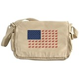 Horse Canvas Messenger Bags