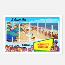 Ocean City Maryland Greetings Postcards (Package o