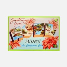 Noel Missouri Greetings Rectangle Magnet