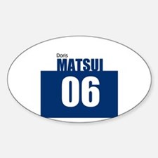 Matsui 06 Oval Decal