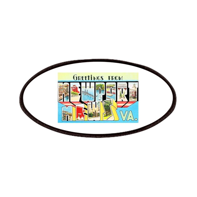 Newport News Virginia Patches By W2arts