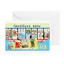 Newport News Virginia Greeting Card