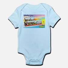 New London Connecticut Greetings Infant Bodysuit