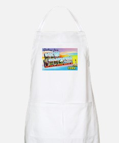 New London Connecticut Greetings Apron