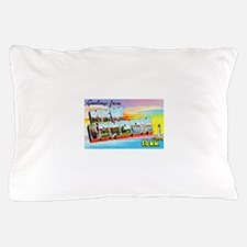 New London Connecticut Greetings Pillow Case