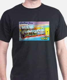 New London Connecticut Greetings T-Shirt