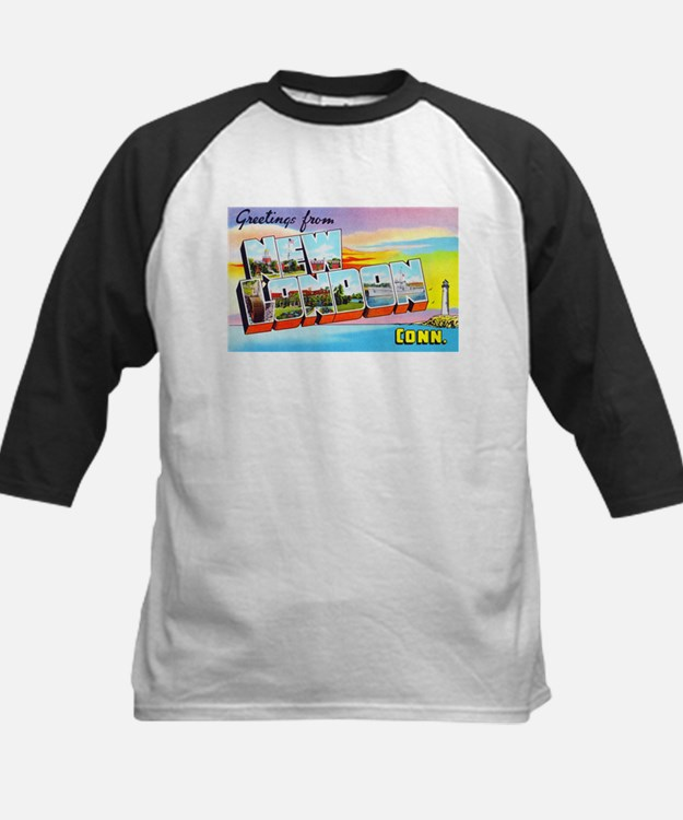New London Connecticut Greetings Tee