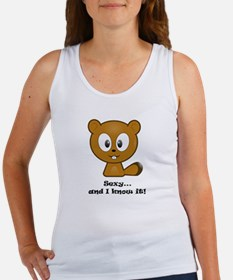 Sexy And I Know It Chipmunk Women's Tank Top