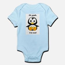 Oh Yeah, I'm Cool Penguin Infant Bodysuit