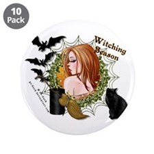 "Witching Season 3.5"" Button (10 pack)"