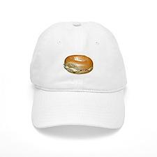 Bagel and Cream Cheese Baseball Cap