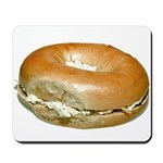Bagel and Cream Cheese Mousepad