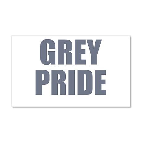 Grey pride Car Magnet 20 x 12