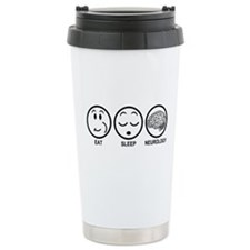 Eat Sleep Neurology Travel Mug