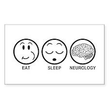 Eat Sleep Neurology Decal
