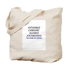 Invisible Chronic Illness Awa Tote Bag