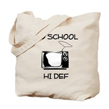 Old School HD Television Tote Bag