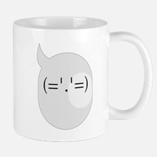 Cute Surprise Text Bubble Emotion Mug