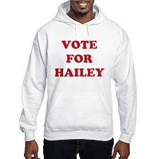 VOTE FOR HAILEY Jumper Hoody